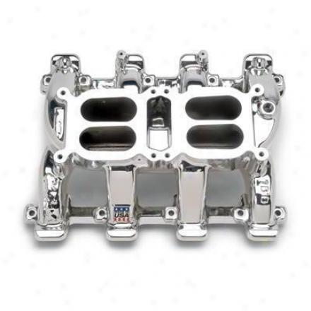 Eddelbrock Rpm Air-gap Dual-quad Ls1 Intaje Manifold