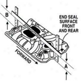 Edelbrock Rpm Air Gap Vortec Intake Manifold