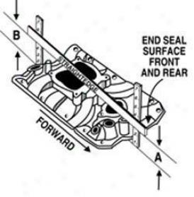 Edelbrock Victor Jr. Ford 2v Sportsman Intake Manifold
