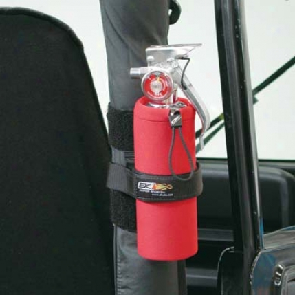 "Ek Motor Sports Neoprene Fire Extinguisher Holder In proportion to Ek Motor Sporrtsâ""¢  19025pred"
