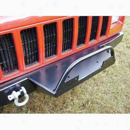 Front Bumper Winch Plate By Rock Harf 4x4 Rh1015-a