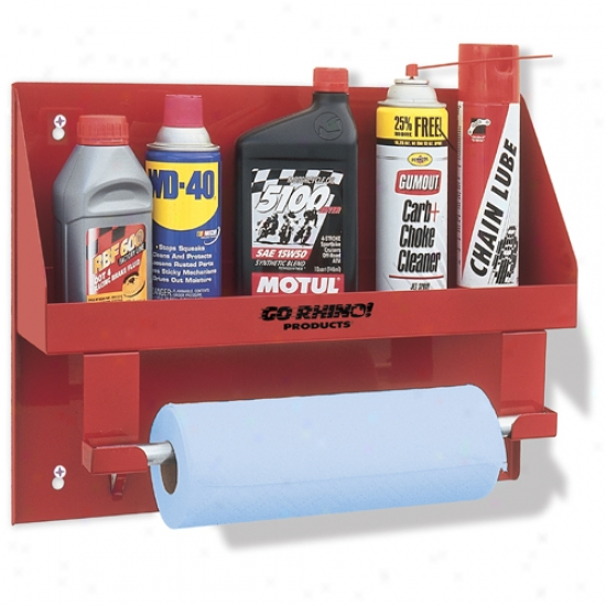 Garage/shop Organizer Oil Bottle Holder