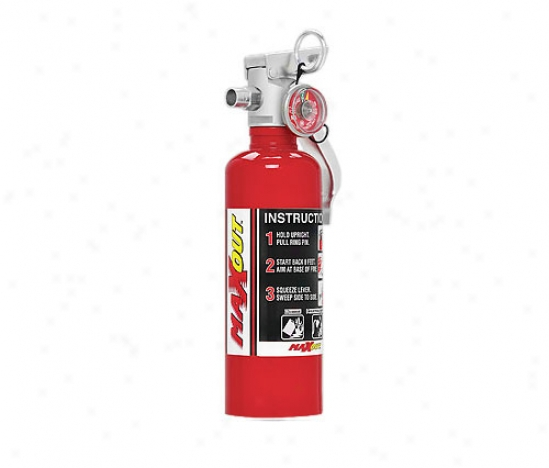 H3r Performance 1 Lb. - Red Fire Extinguisher Mx100r