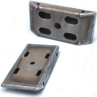 Heavy Duty Spring Plates For 2 1/2inch Wide Springs W/shock Mounts