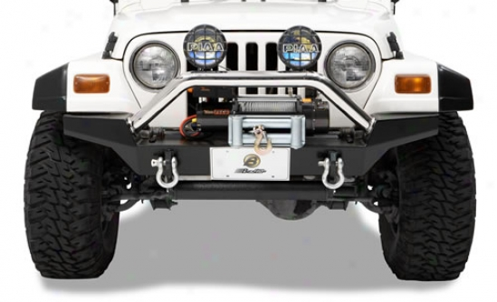 Highrock 4x4 High Access Front Bumper Along Bestop