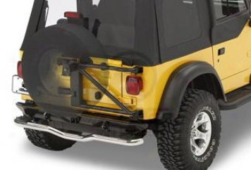 Highrock 4x4 Oversize Tire Carrier By Bestop