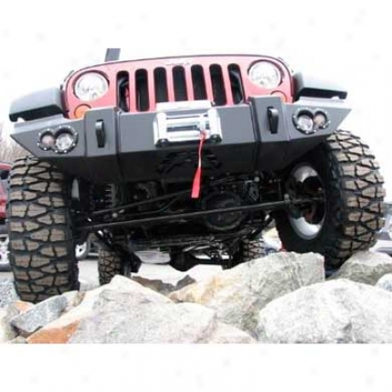 Jeep Jk Lifestyle Winch uBmper Without Grill Guard By Fab Fours