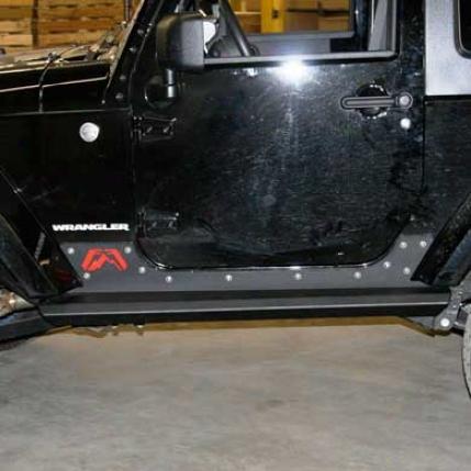 Jeep Jk Rock Sliders By Fsb Fours