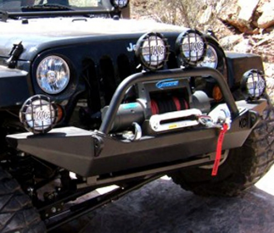Kc Hilites Front Bumper With Winch Mount By Kc Hilites