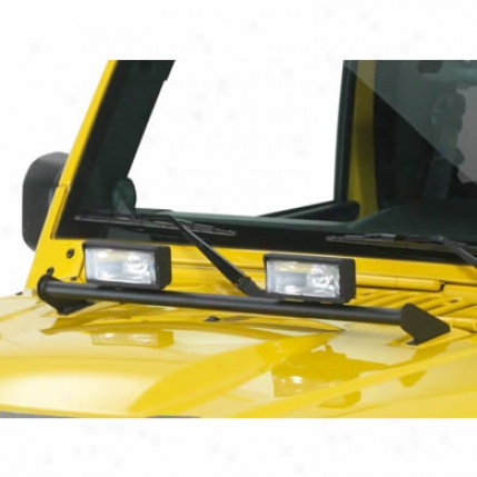 Kc Hilires Cover with a ~ Mount Light Bar By K/c Hilites