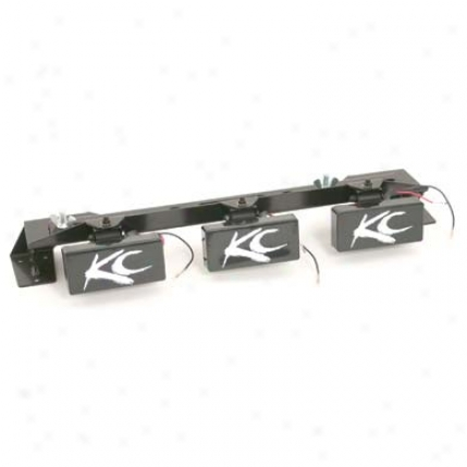 Kc Hilites Hood Mount Utility Light Bar From Kc Hilites