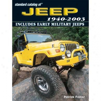 Kp Books Standard Catalog Of Jeep® 1940-2003 Jpsc1