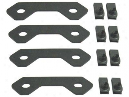 Mbrp Spare Tire Bracket Reinforcing Kit