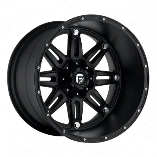 Mht Fyel Wheels D531 Hostage Deep - Black