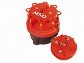 Msd Cap-a-dapt Cap And Rotor