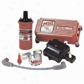Msd Gm Hei Upgrades Multiple Spark Ignition Control Kit