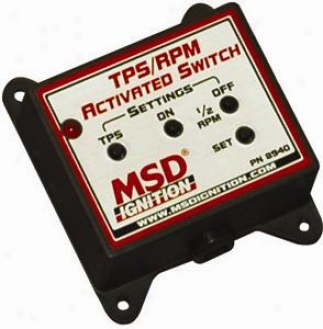 Msd Tps/rpm Activated Switch