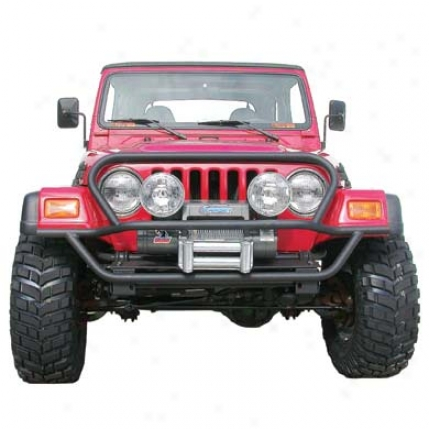 Olympic 4x4 Products A/t Slider Front Bumper Through  Hood Protection By Olympic 172-124