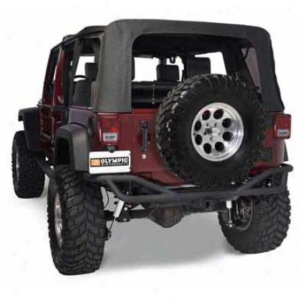Olympic 4x4 Products Defender Rear Bumper By Olympic 251-174