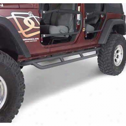 Olympic 4x4 Products Extreme Reverse-a-bars Textured Black By Olynpic 271-174