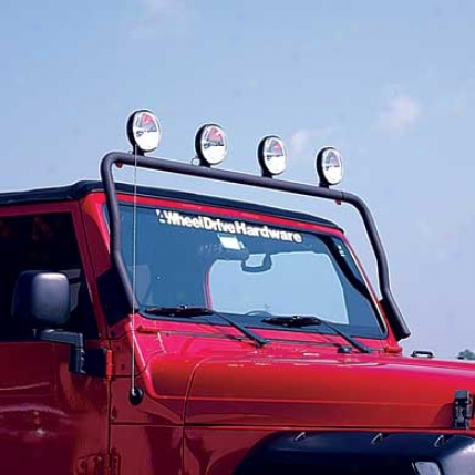 Olympic 4x4 Products Maxi Light Bar Along Olympic 803-124