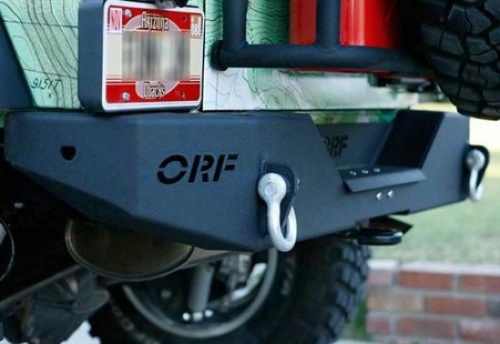 Or-fab Off-road Products Or-fab Rear Bumper Wicked 83208bb