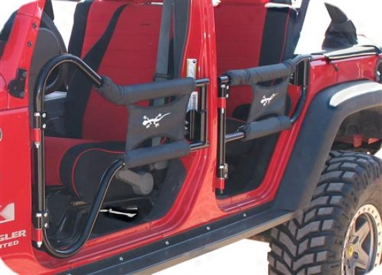 Or-fab Off-road Products Or-fab Rock Doors Black 88002
