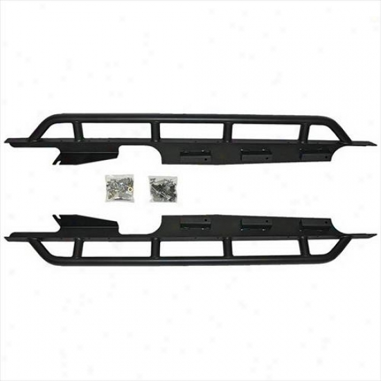 Or-fab Off-road Products Or-fab Rocker Protectors With Bar 84307