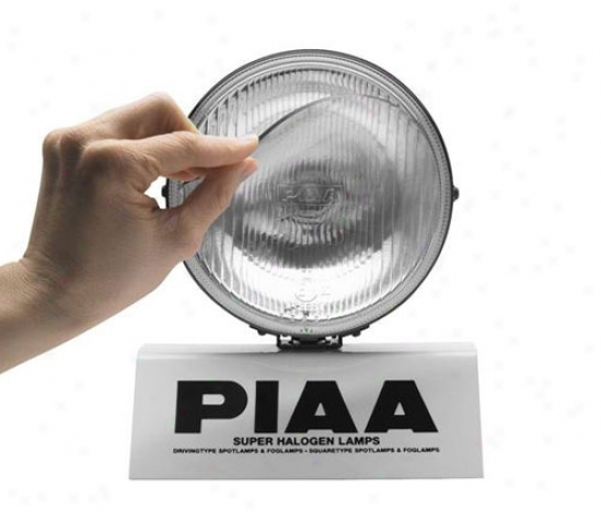 Piaa Lights Adhesivd Transparent Lens Protection For 580 Succession Lamps, Pair