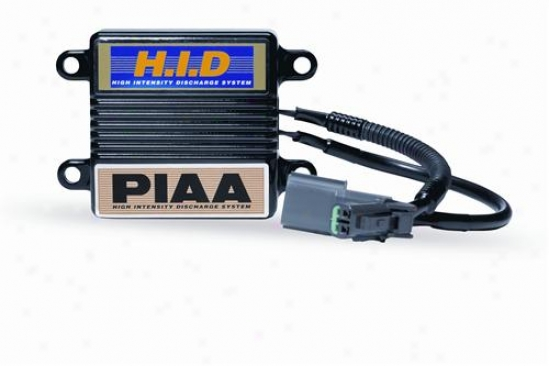 Piaa Lights Hid Ballast & Igniter Set (2100-600-610hid) For Pia34035 Harness Only