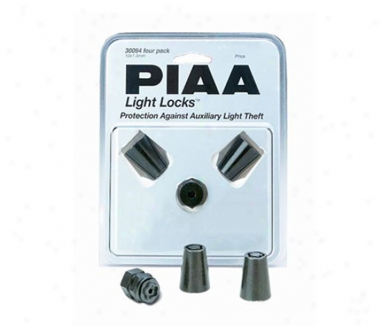 Piaa Lights Lamp Locks For Two Lamps (single Bolt)