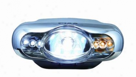 Piaa Lights Lamp Xtreme White P1 Right Side 55=110w Led=amber & White