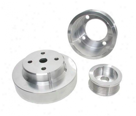 Power-plus Series Underdrive Pulley System