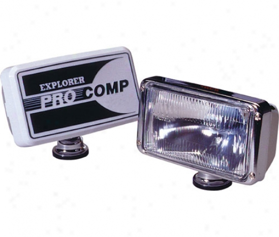 Pro Comp 6 X 9 100 Watt Driving Light