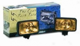 Pro Copm Pair Pack, 4 X 6, 55 Watt Amber Fog Light Kit