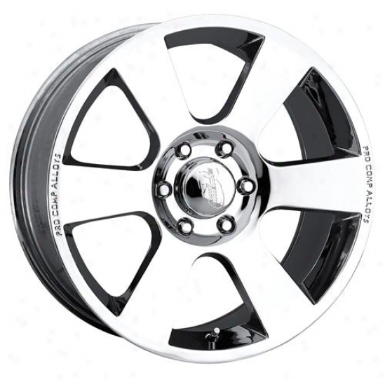 Pro Comp Wheels: Xtreme Alloys Series 6008 Chrome Finish