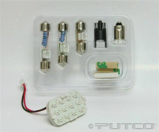 Putco Universal Led Intreior Kit White 230002w