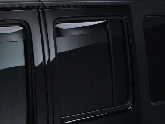 Rear Window Deflectors By Weathertech