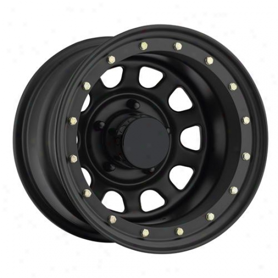 Rock Crawler Series 152 Flat Black Street Lock Wheels 152-6883f