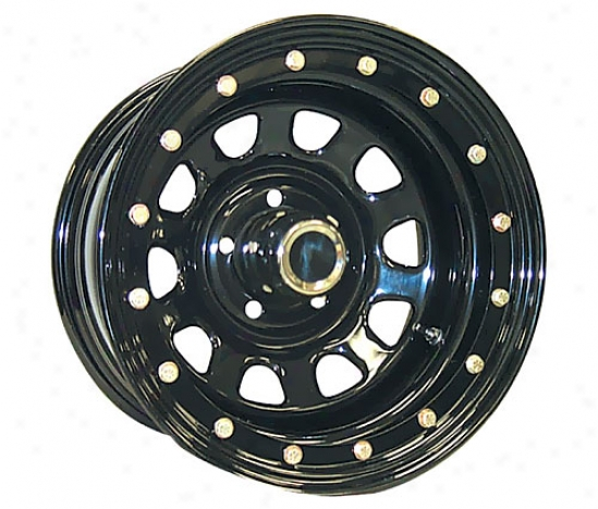 Rock Crawler Series 152 Gloss Black Street Lock Wheels 152-6866