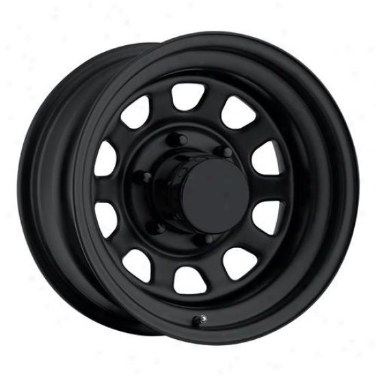 Rock Crqwler Series 52 Flat Black Dust Wheel 52-6873f