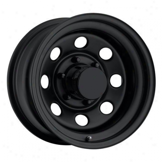 Rock Crawler Series 98 Flat Black Monster Mod Wheel