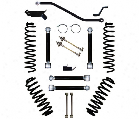 Rock Krawler 3␝ Short Arm Flex Suspension System By Rock Krawler Tj300004