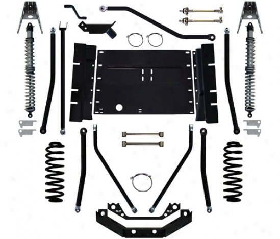 Rock Krawler 4� X-factor Plus Comp Long Arm Suspension System By Rock Krawler Tj409979
