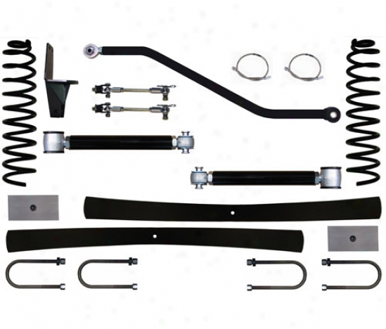 Rock Krawler 4.5␝ Short Arm Flex Suspension System By Rock Krawler Xj450000