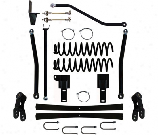 Rock Krawler 4.5� X-factor Plus Long Arm Suspension System By Rock Krawler Xj450007