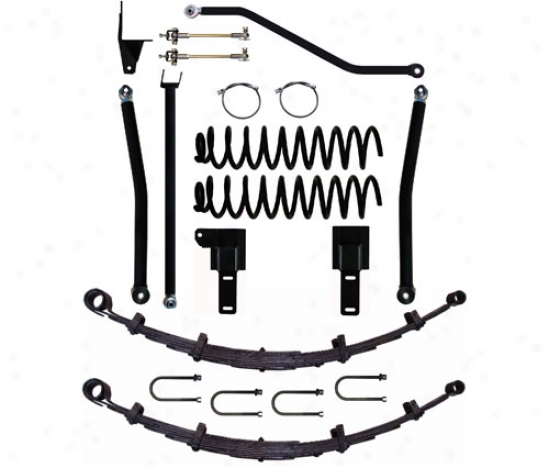 Rock Krawler 4.5� X-factor Plu sLong Arm Suspension System By Rock Krawler Xj450008