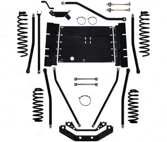 "Rock Krawler 4"" X-factor Plus Long Arm Suspension Scheme By Rock Krawler Tj409974"
