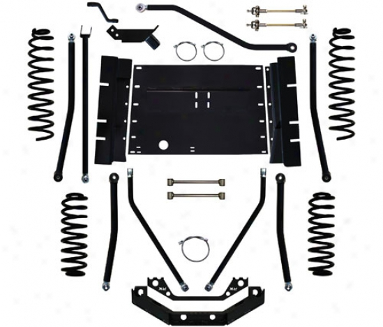 "Rock Krawler 4"" X-factor Plus Long Arm Suspension System By Rock Krawler Tj409975"