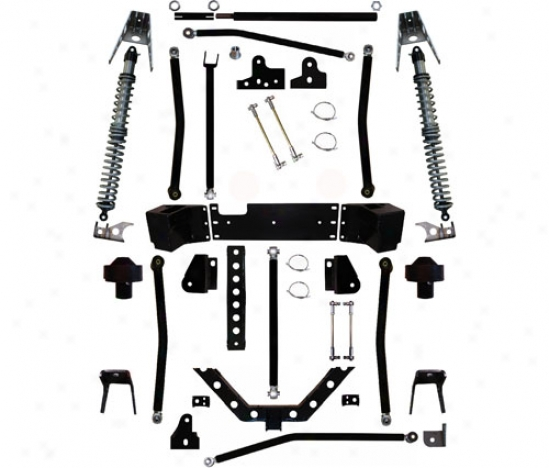 Rock Krawler 5.5� Coil Over Stretch Suspension System By Rock Krawler Jk93055